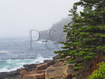 Otter Cliff, The Ocean Trail, Acadia National Park, Maine, USA