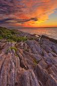 Sunrise, Giants Stairs Trail, Bailey Island, Maine, USA