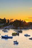 Sunset, Mackerel Cove, Bailey Island, Maine, USA