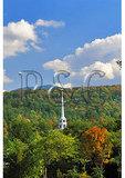 Church Steeple, Stowe, Vermont