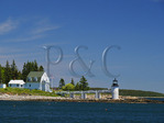 Marshall Point Light, Port Clyde, Maine, USA
