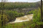 Lower Falls, Genesee, River, Letchworth State Park, New York, USA