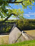 Mount Morris Dam, Genesee, River, Letchworth State Park, New York, USA