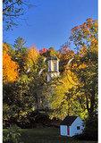 Church Steeple, Woodstock, Vermont