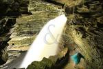 Cavern Cascade in Watkins Glen State Park, Watkins Glen, New York, USA