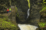 Minnehaha Falls, Gorge Trail, Watkins Glen State Park, Watkins Glen, New York, USA