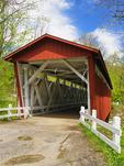 Everett Covered Bridge, Cuyahoga Valley National Park, Brecksville, Ohio, USA