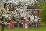 Hale House, Hale Farm and Village, Cuyahoga Valley National Park, Brecksville, Ohio, USA