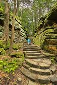 Ledges Trail, Cuyahoga Valley National Park, Brecksville, Ohio, USA