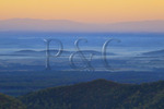Sunrise, Riprap Overlook, Shenandoah National Park, Virginia, USA