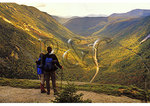 Hikers on Willard Peak, Crawford Notch, White Mountains, New Hampshire