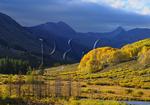 Sunset, Beaver Ponds, Slate River Road, Crested Butte, Colorado, USA
