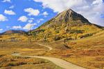 Gothic Mountain, Washington Gulch Road, Crested Butte, Colorado, USA