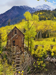 Crystal Mill, Crystal River Jeep Tour, Marble, Colorado, USA