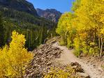 Mills Lake Trail, Rocky Mountain National Park, Estes, Colorado, USA
