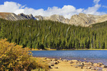 Brainard Lake, Brainard Lake Recreation Area, Ward, Colorado, USA