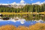 Red Rock Lake, Brainard Lake Recreation Area, Ward, Colorado, USA