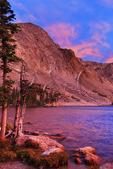 Sunrise, Lake Marie, Snowy Range Scenic Byway, Centennial, Wyoming, USA