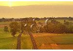 Sunset over The Sunken Road, Antietam National Battlefield, Sharpsburg, Maryland