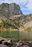 Emerald Lake, Dream Lake Trail, Rocky Mountain National Park, Estes, Colorado, USA