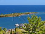 Copper Harbor Overlook, Brockway Mountain Drive,  Copper Harbor,  Michigan, USA