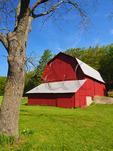 Charles Olsen Farm, Sleeping Bear Dunes National Lakeshore, Empire, Michigan, USA