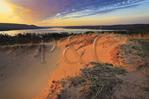Glen Lake, Dunes Hiking Trail, Sleeping Bear Dunes National Lakeshore, Empire, Michigan, USA