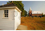 Outhouse at Historic Christ Church, Chaptico, Maryland