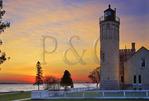 Mackinac Point Light, Mackinaw City, Michigan, USA