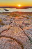 Sunrise, Cadillac Mountain, Acadia National Park, Maine, USA
