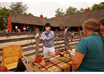 Swordsmanship demonstration, War 0f 1812 Reenactment, Jefferson Patterson Park and Museum, Saint Leonard Creek, Maryland