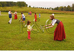 Historic toy demonstration, War 0f 1812 Reenactment, Jefferson Patterson Park and Museum, Saint Leonard Creek, Maryland