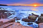 Sunrise, The Ocean Path, Acadia National Park, Maine, USA