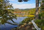 Hadlock Pond Trail, Upper Hadlock Pond, Acadia National Park, Maine, USA