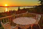 Sunset, Bluff House, Gouldsboro, Maine, USA