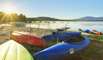 Pleasant Lake, New London, New Hampshire, USA