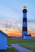 Sunrise, Bodie Island Lighthouse, Cape Hatteras National Seashore, North Carolina, USA