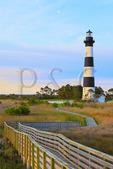Bodie Island Lighthouse, Cape Hatteras National Seashore, North Carolina, USA