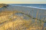 Sunset, Coquina Beach, Bodie Island, Cape Hatteras National Seashore, Whalebone, North Carolina, USA