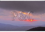 Sunset from Clingmans Dome, Great Smoky Mountains National Park, NC / TN State Line