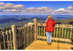 At Cannon Mountain Summit, Franconia Notch, White Mountains, New Hampshire