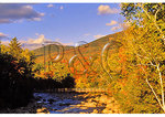 Footbridge across East Branch, Kancamagus Highway, New Hampshire