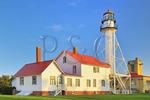 Whitefish Point Light, Great Lakes Shipwreck Museum, Paradise, Michigan, USA