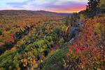 Big Carp River, Escarpment Trail, Lake of the Clouds, Porcupine Mountains Wilderness State Park, Ontonagon, Michigan, USA