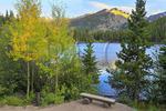 Sunset at Bear Lake, Rocky Mountain National Park, Estes Park, Colorado, USA