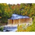 Tahquamenon Falls, Tahquamenon Falls State Park, Upper Penninsula, Paradise, Michigan, USA