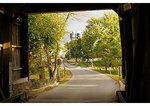 Inside covered bridge, Ephrata, Pennsylvania