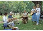 Bluegrass Band at Humpback Rocks Farmstead, Blue Ridge Parkway, Virginia