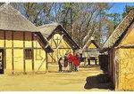 In the fort, Jamestown Settlement, Virginia