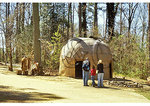 Indian Village, Jamestown Settlement, Virginia